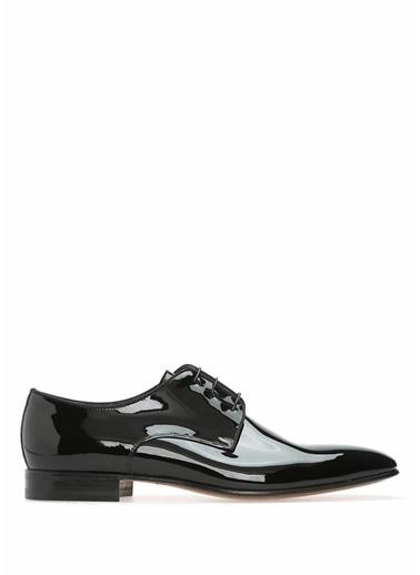 Moreschi %100 Deri Bağcıklı Ayakkabı Siyah